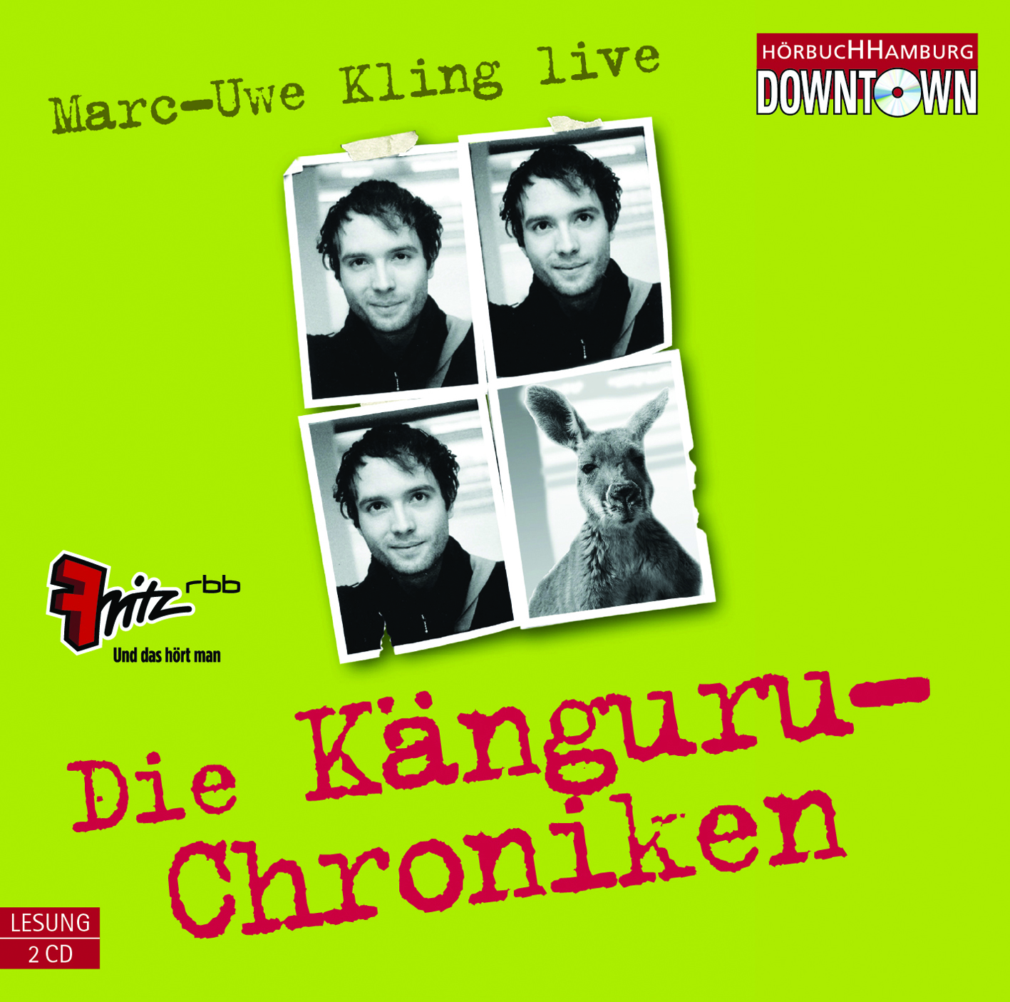 Känguru Marc Uwe Kling