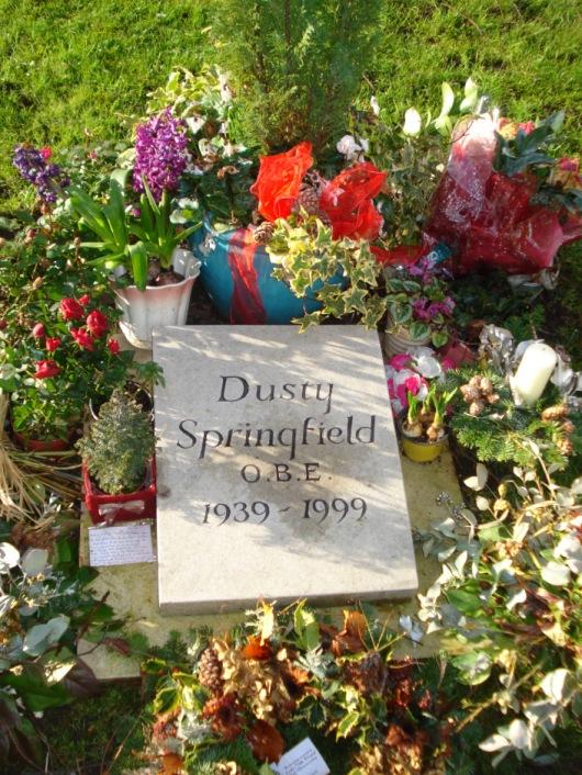 Dusty Springfields Grab in Henley-on-Thames in England. Foto: Rolf-Ingo Behnke