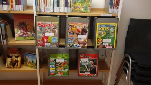 Zeitschriftenboxen