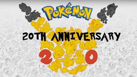 Pokemon 20 Jahre