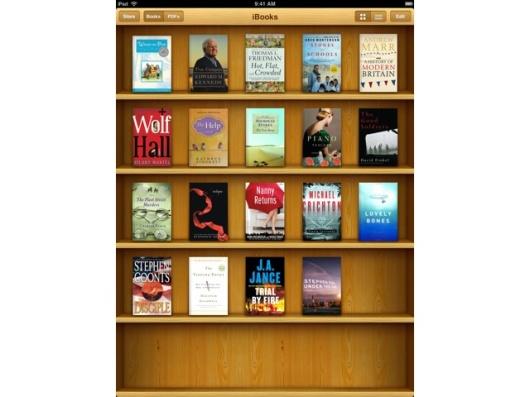 Apple iBooks auf dem iPad