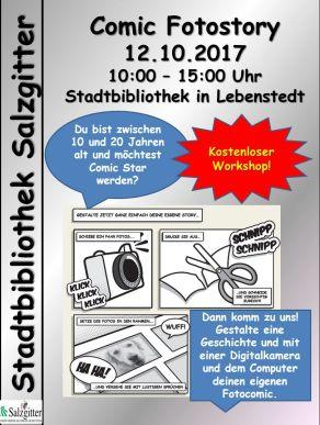comic Workshop - Plakat