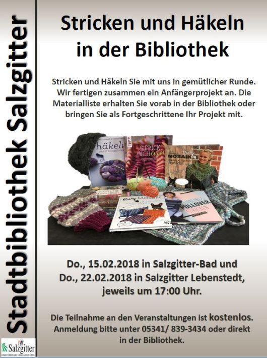 Wir Stricken Und Häkeln Blog Der Stadtbibliothek Salzgitter