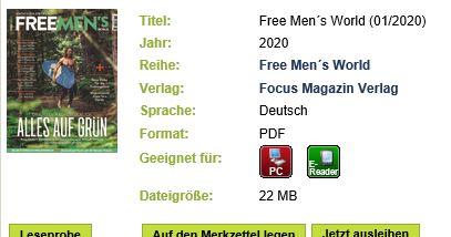 Free mens world