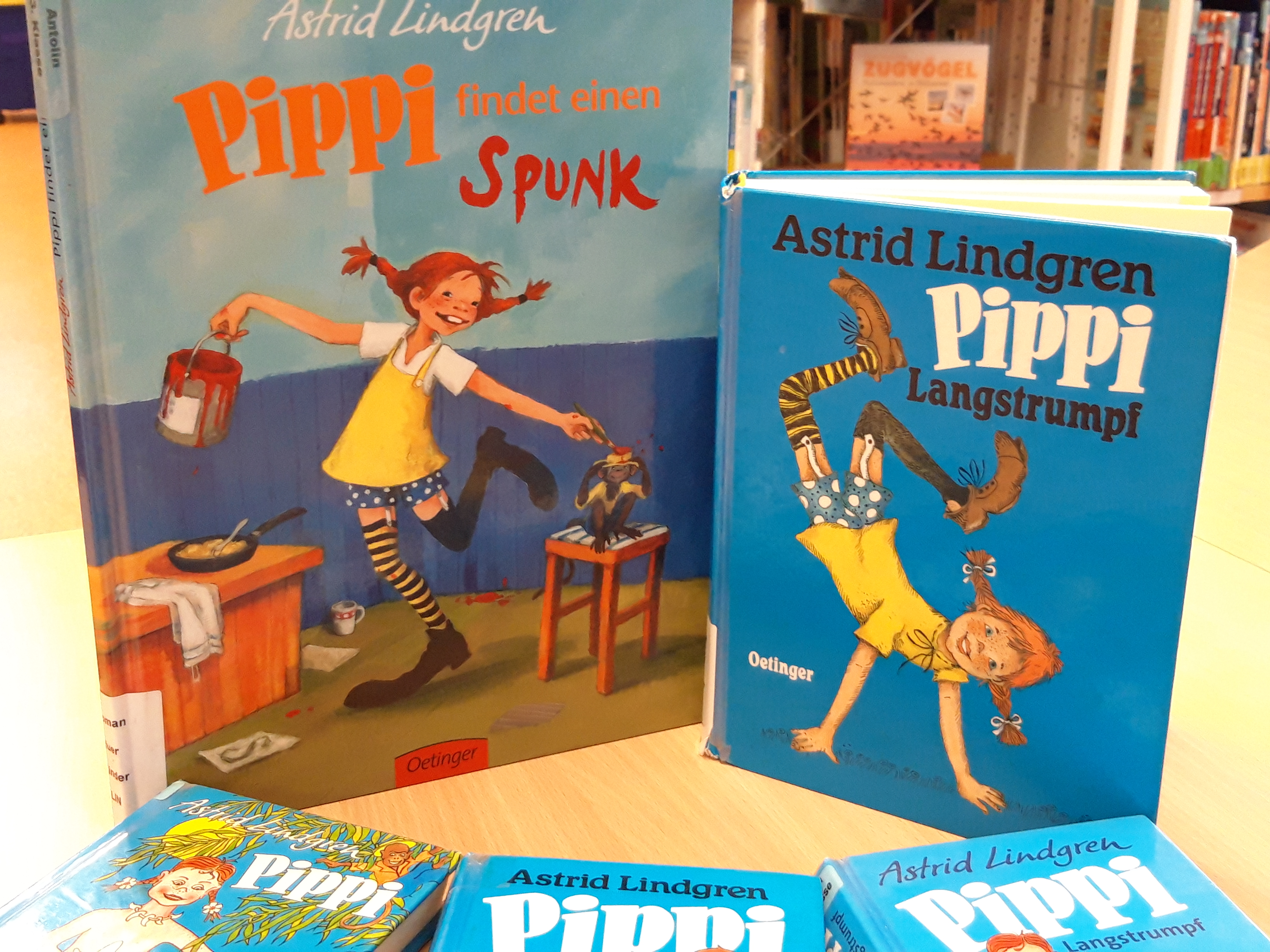 0 - Bücher Pippi Langstrumpf