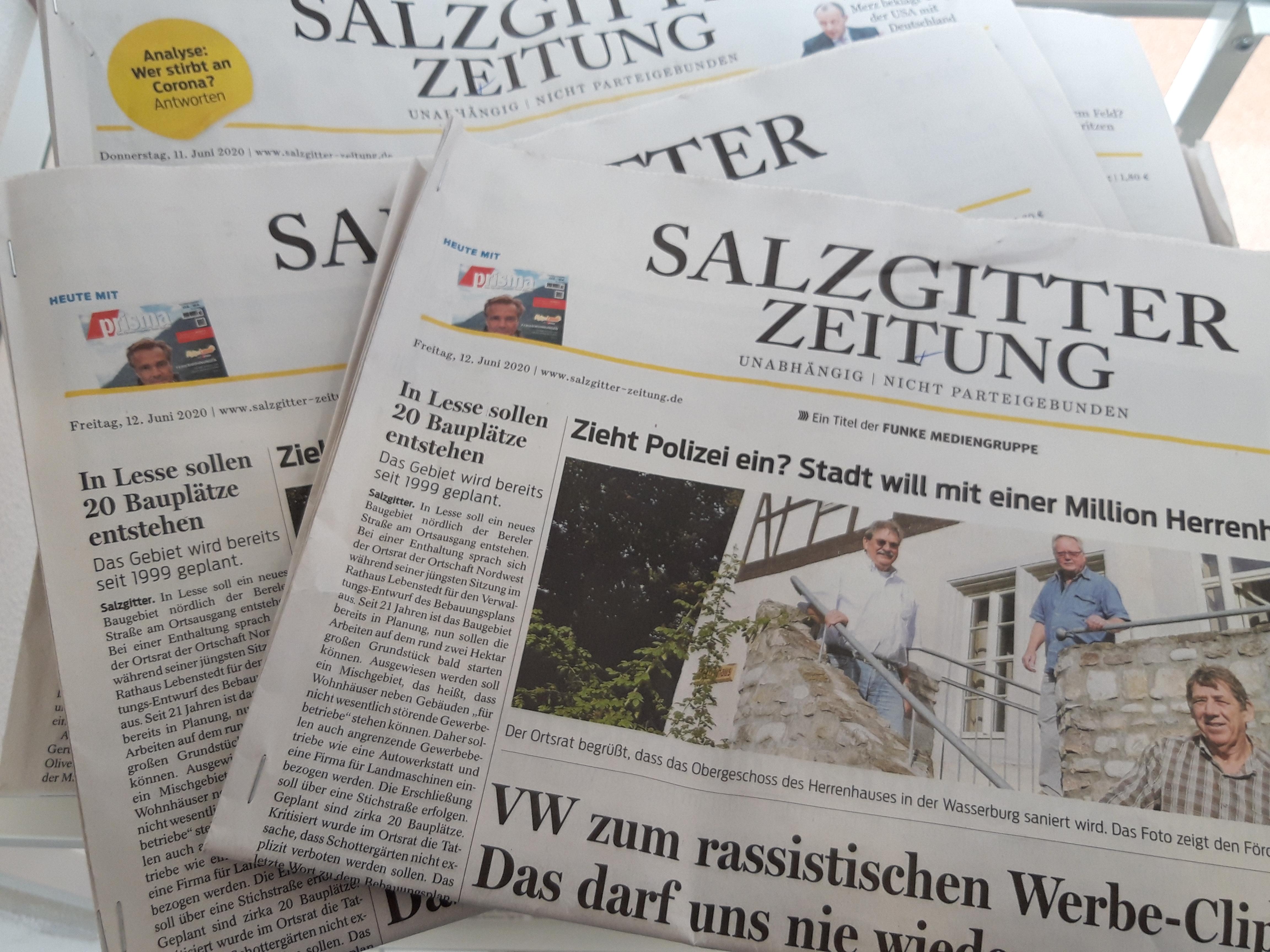 0 - Zeitungen, Salzgitter